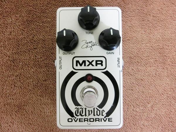 モリダイラ楽器 MXR エフェクター WYLDE OVERDRIVE オーバードライブ ZW-44 ザック・ワイルド