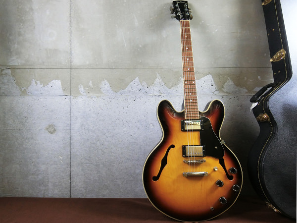 【M62】Tony Smith トニースミス SA380 セミアコ エレキギター