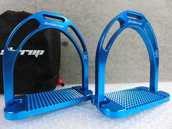 未使用 Jinstirrup ジンストラップ 鐙 乗馬用品 管理03VJ51