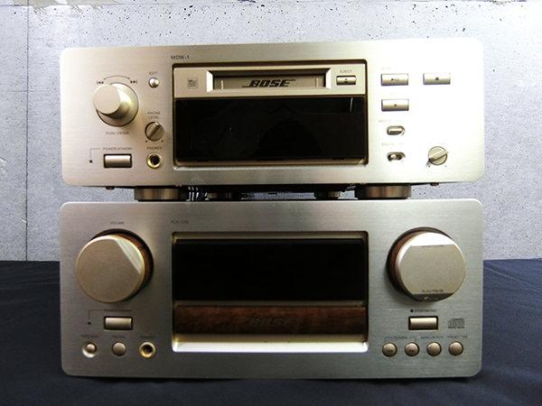 BOSE ボーズ PLS-1310 CD チューナーアンプ・MDW-1 MDレコーダー