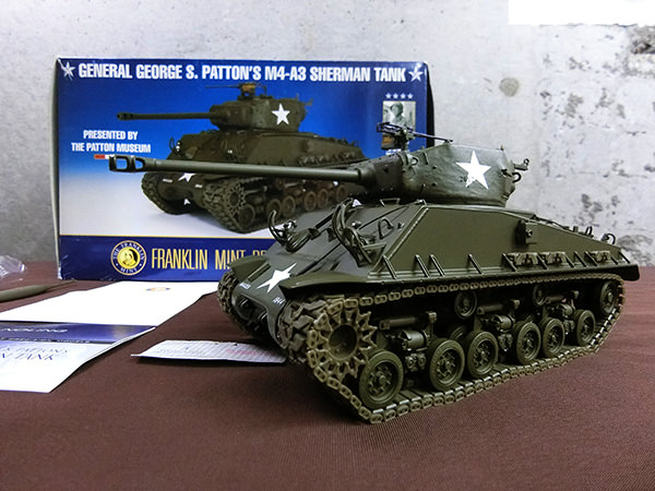 FRANKLIN MINT フランクリンミント M4A3 SHERMAN TANK
