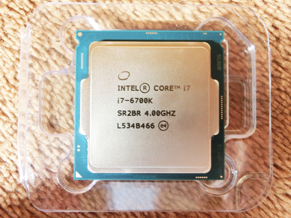 インテル マイクロプロセッサ Intel Core i7-6700K 4.0GHz