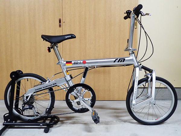 R&M リーズ&ミューラー birdy BD-1 折りたたみ自転車 ミニベロ