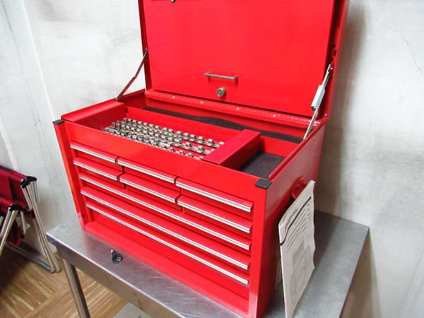 工具箱 トップチェスト 鍵付き KRA4059