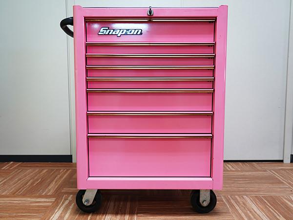 スナップオン 工具箱 限定色 ピンク KRA4008EKPVZ