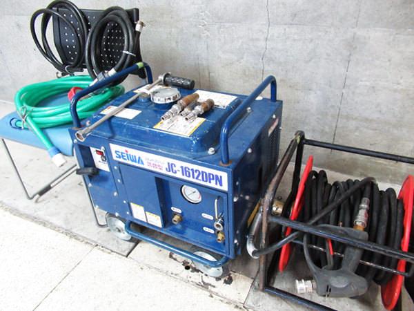 防音高圧洗浄機1