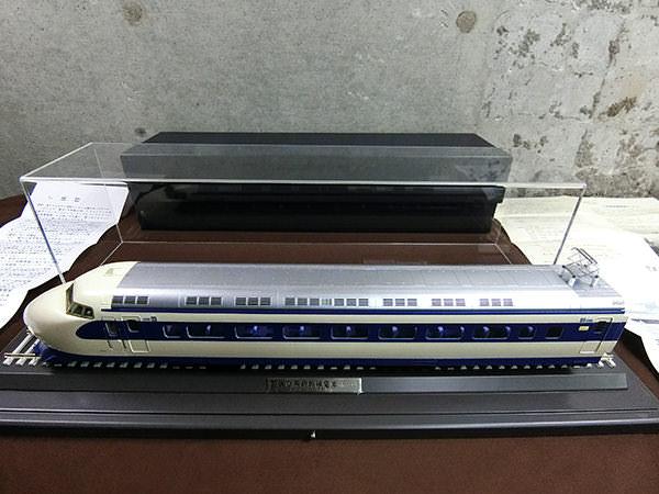 日車夢工房 新幹線 国鉄O系新幹線電車 スーパーディスプレーモデル 1/45 32mm ケース付 買取