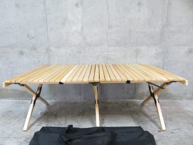 ウッドロールトップテーブル L1