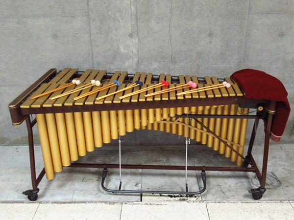 SAITO 斉藤楽器 サイトウ ビブラフォン 立奏鉄琴 VS-4000 VSシリーズ 49鍵盤
