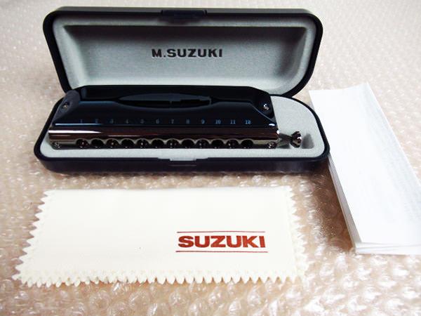 SUZUKI スズキ クロマチックハーモニカ G-48 グレゴア