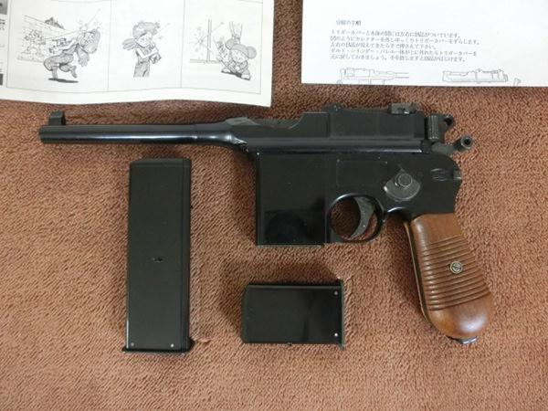 フジミ モーゼル M712 ガスガン