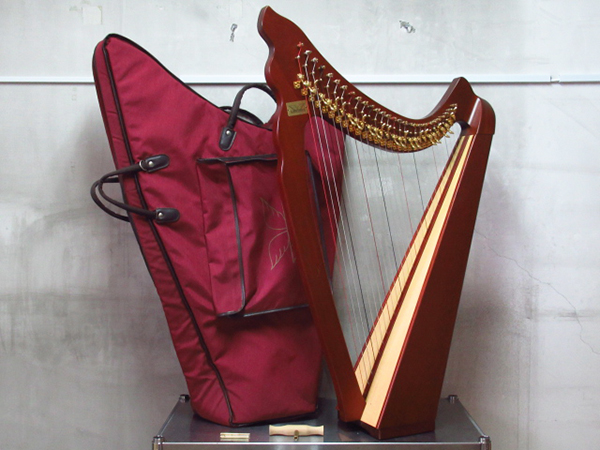 Angel Harp エンジェルハープ 28弦 希少 収納ケースセット 管理2T1124F