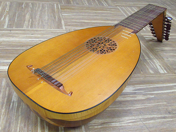 Arnold リュート 弦楽器 古楽器 Surrey No821 1923年