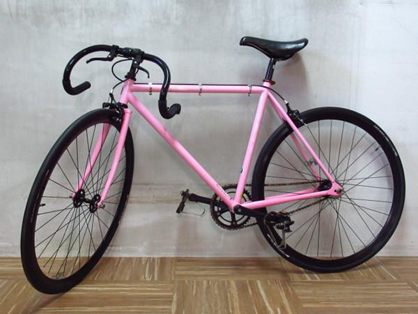 FUJI フジ ピストバイク Feather サイズS 52cm ピンク